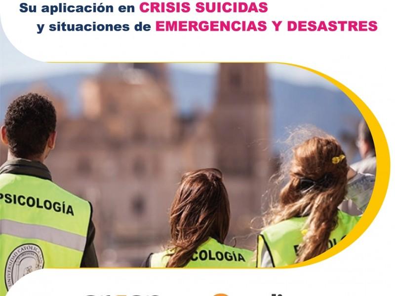 Primeros Auxilios Psicológicos. Su aplicación en Crisis Suicidas y situaciones de Emergencias y Desastres. Modalidad ON LINE